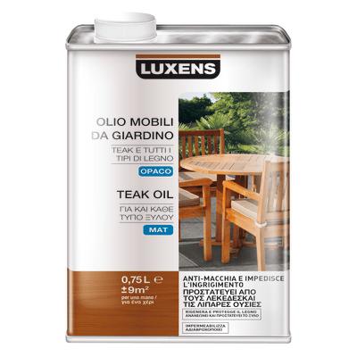 Olio luxens mobili da giardino incolore 0 75 l prezzi e for Mobili da giardino offerte on line