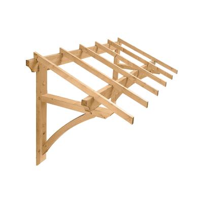 Tettoia in legno l 205 x p 120 cm prezzi e offerte online for Tettoia legno leroy merlin