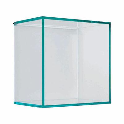 Cubo kubo q trasparente l 28 x p 28 sp 0 8 cm prezzi e for Staffe per mensole leroy merlin