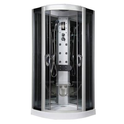 Cabina idromassaggio eklis 90 x 90 cm prezzi e offerte online leroy merlin - Bricoman cabine doccia ...