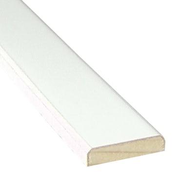 Piattina legno laccato bianco 5 x 40 x 2400 mm prezzi e offerte ...