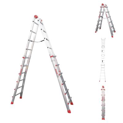 Scala telescopica alluminio faraone 6 6 gradini per for Scale alluminio leroy merlin