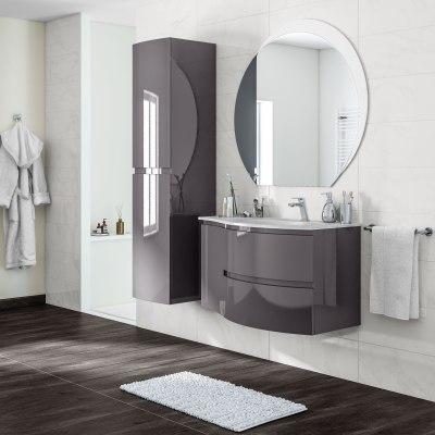 Mobile bagno Vague grigio antracite L 104 cm prezzi e offerte online ...