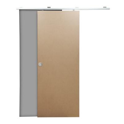 Porta da interno scorrevole Practical filomuro grezza 70 x H 210 cm ...