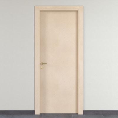 Porta da interno battente saint germain grezza 70 x h 210 cm reversibile prezzi e offerte online - Porte interno leroy merlin ...
