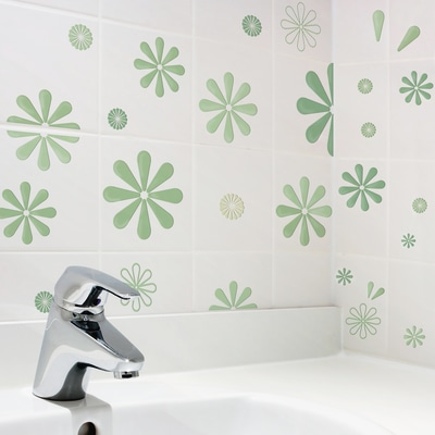 Sticker creative m go green prezzi e offerte online for Fotomurali leroy merlin