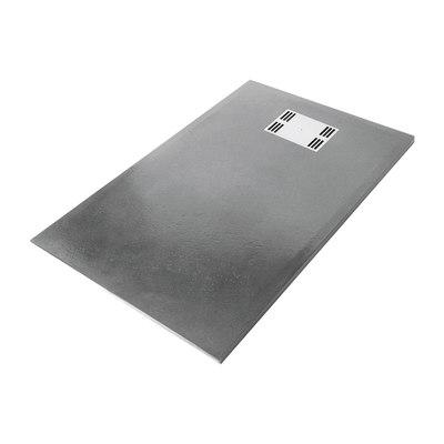 Piatto doccia resina slate 70 x 120 cm grigio prezzi e - Offerte cabine doccia leroy merlin ...