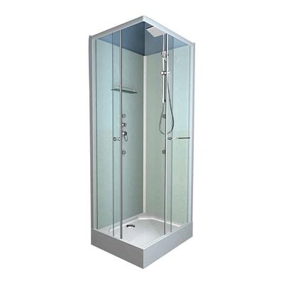 Cabina idromassaggio dina 80 x 80 cm prezzi e offerte online leroy merlin - Cabine doccia leroy merlin ...