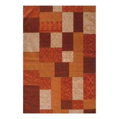 Tappeto modern kilim arancione rosso 160 x 230 cm prezzi for Tappeti kilim leroy merlin