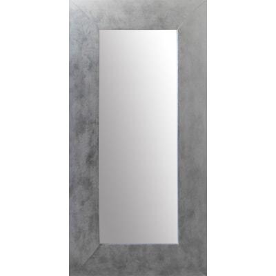 Specchio Da Parete Rettangolare Osakan Argento 38 X 128 Cm Prezzi E