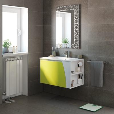 Mobile bagno Soft verde acido L 80,5 cm prezzi e offerte online ...