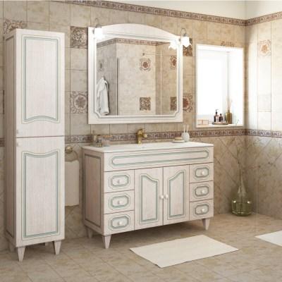 Mobile bagno caravaggio l 120 cm prezzi e offerte online for Mobile bagno doppio lavabo leroy merlin