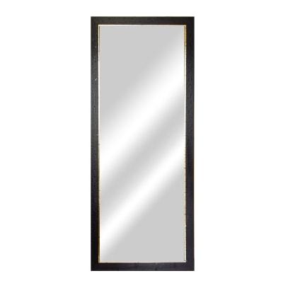 Specchio da parete rettangolare old rustic noce 64 8 x 164 - Specchio rettangolare da parete ...