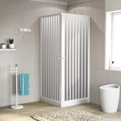 Box doccia scorrevole playa 70 80 x 70 80 h 185 cm pvc 2 mm stampato prezzi e offerte online - Specchio bagno 90x80 ...