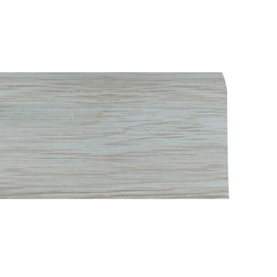Battiscopa multifunzione grigio chiaro 26 x 55 x 2500 mm for Battiscopa bianco leroy merlin