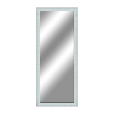 Specchio da parete rettangolare sibilla bianco 70 x 90 cm - Specchio rettangolare da parete ...