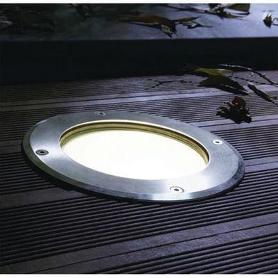 Faretto incasso per esterno a pavimento boston 18 4 cm for Pavimento legno esterno leroy merlin