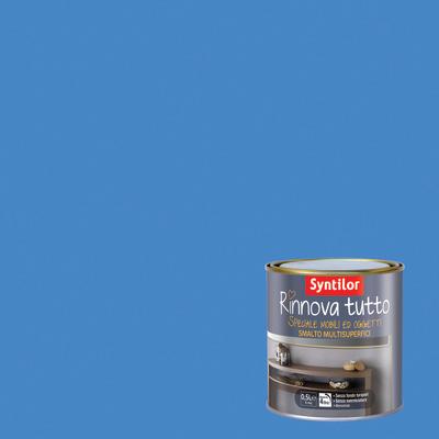 Smalto rinnova tutto syntilor blu indaco opaco 0 5 l - Rinnova tutto bagno ...