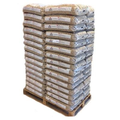Bancale pellet eco holz 70 sacchi da 15 kg 100 abete for Offerte stufe a pellet bricoman elmas