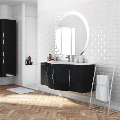 Mobile bagno sting nero l 138 cm prezzi e offerte online leroy merlin - Mobile bagno leroy merlin ...