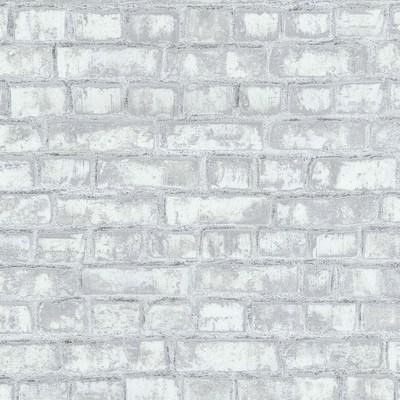 Carta da parati mattoni grigio 10 m prezzi e offerte for Fotomurali leroy merlin