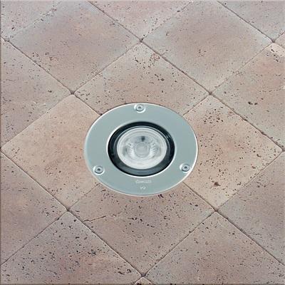 Faretto incasso per esterno a pavimento microfloor led for Leroy merlin illuminazione esterno