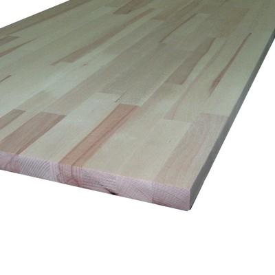 Piano di lavoro in legno faggio l 245 x h 2 8 cm prezzi e for Faggio lamellare leroy merlin