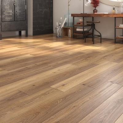 Pavimento laminato warden sp 10 mm marrone prezzi e for Pavimento legno esterno leroy merlin