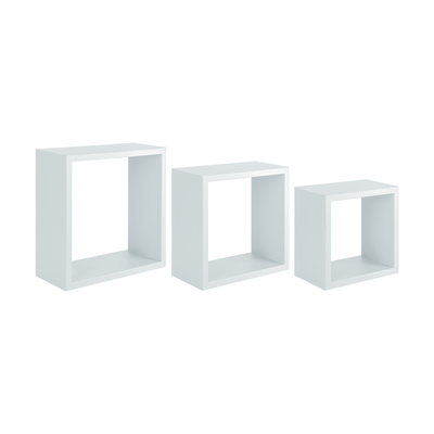 Mensole Per Camerette Leroy Merlin.Mensola A Cubo L 35 X H 35 Cm Sp 18 Mm Bianco