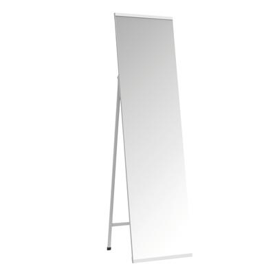 Leroy Merlin Specchi Da Parete.Specchio Metal Rettangolare Bianco 40x150 Cm