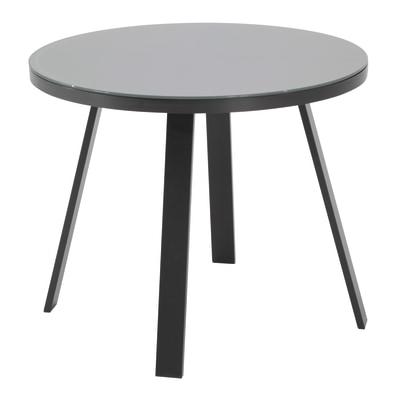 Tavolo Rotondo Per Esterno.Tavolo Da Pranzo Per Giardino Rotondo Lisboa Naterial Con Piano In