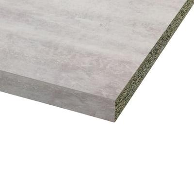 Piano Cucina In Laminato Grigio Cemento L 246 X P 63 Cm Spessore 3 8 Cm Prezzo Online Leroy Merlin
