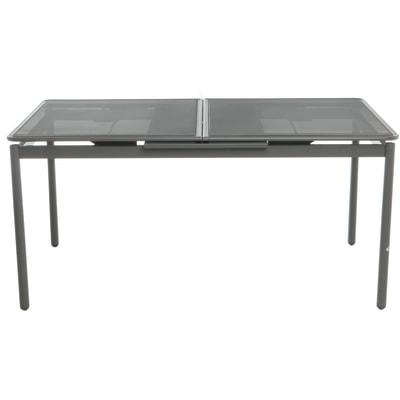 Tavolo Per Esterno Allungabile.Tavolo Da Giardino Allungabile Syd Con Piano In Metallo L 160 X P