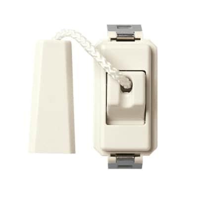 Pulsante a tirante Vimar serie 8000 bianco