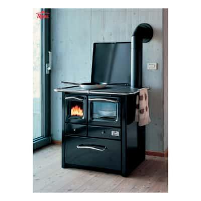 Cucina a legna Gaia 45 nero