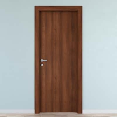 Porta da interno battente Noyer 60 x H 210 cm reversibile