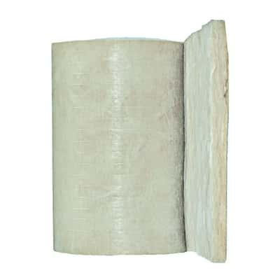 Rotolo in lana di vetro Par 4+ Isover L 0,6 m, spessore 70 mm