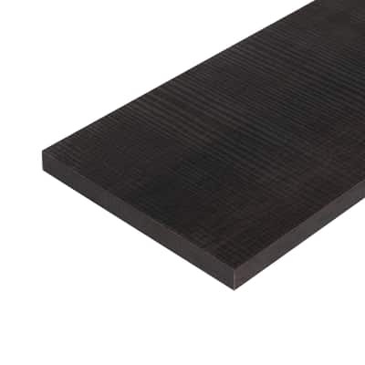 Pannello melaminico rovere scuro 18 x 300 x 1200 mm