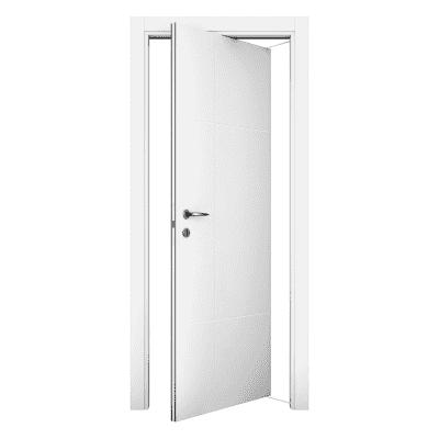 Porta da interno rototraslante Urban bianco 80 x H 210 cm dx