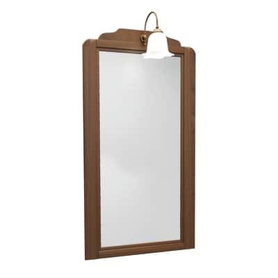 Specchio Laura noce 49 x 122 cm