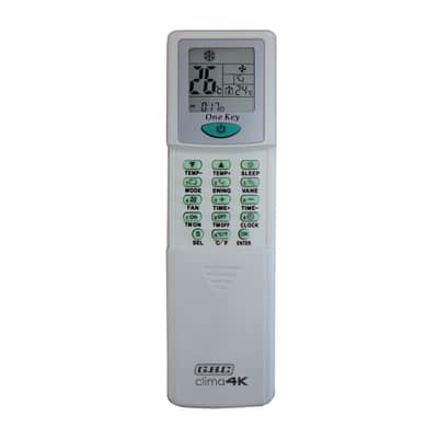 Telecomando universale Clima 4000 55 x 145 x 16 mm
