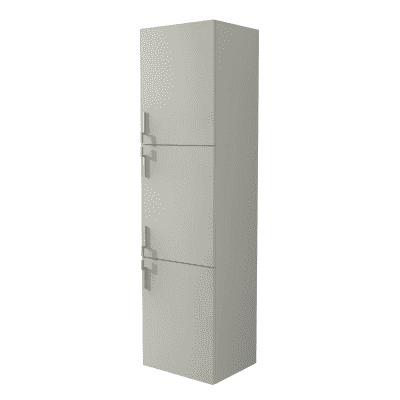 Colonna Sting grigio 3 ante L 45 x H 170 x P 38 cm