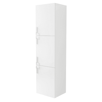 Colonna Sting bianco 3 ante L 45 x H 170 x P 38 cm