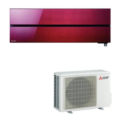Climatizzatore fisso inverter monosplit Mitsubishi MSZ-LN35VG Wi-Fi 12000 BTU classe A+++ rosso