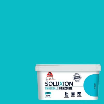 Idropittura  igienizzante antimuffa Soluxion bolleblu 2,5 L Boero