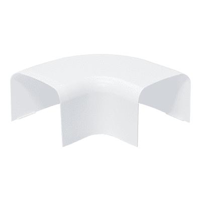 Curva piana 90° 65 x 50 mm