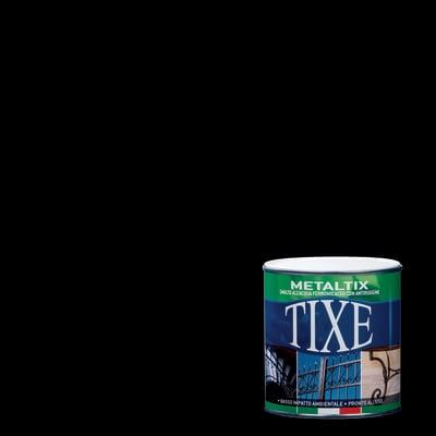 Smalto per ferro antiruggine Tixe Metaltix nero antichizzato 0,5 L
