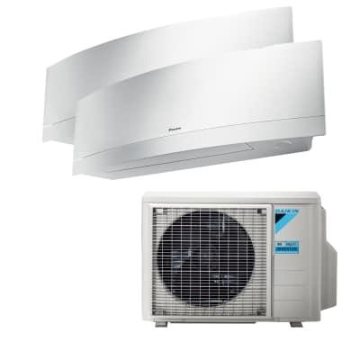 Climatizzatore fisso inverter dualsplit Emura 2MXM40M/FTXJ25MW+FTXJ25MW 9000 + 9000 BTU classe A++