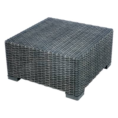 Tavolino California, 68 x 68 cm grigio antracite