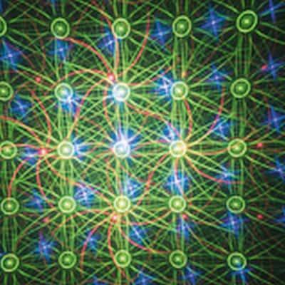 Proiettore laser multicolore L 12 x H 22 cm